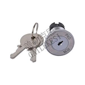 圆型电源锁